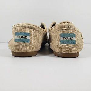 Toms Shoes - TOMS Lace Up Canvas Shoes Women's Size 7 Beige